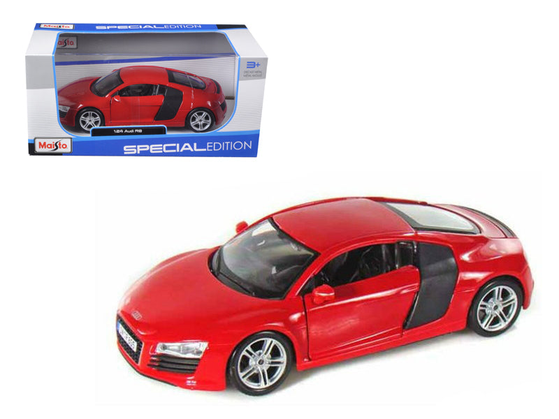 Audi R8 Red 1/24 Diecast Model Car by Maisto - BeTovi&co