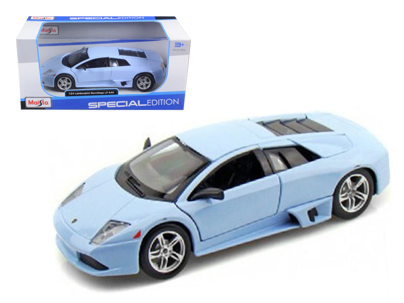 Lamborghini Murcielago LP640 Baby Blue 1/24 Diecast Model Car by Maisto - BeTovi&co