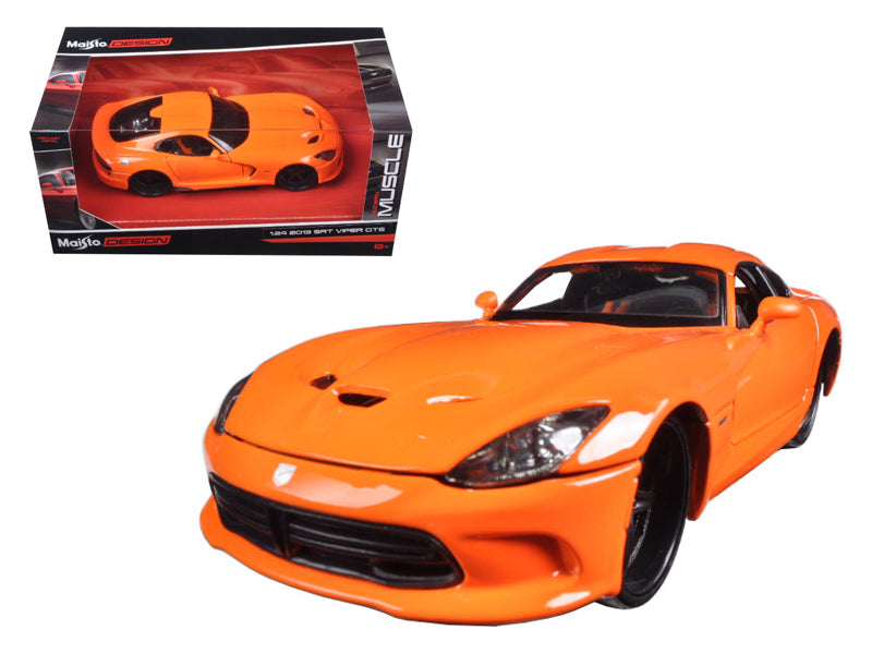 "2013 Dodge Viper GTS SRT Orange \Modern Muscle"" 1/24 Diecast Model Car by Maisto"" - BeTovi&co"