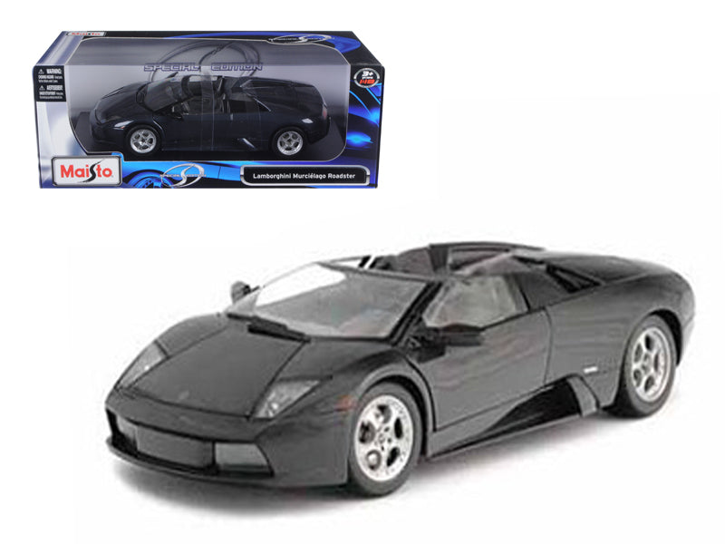 Lamborghini Murcielago Roadster Black 1/18 Diecast Model Car by Maisto - BeTovi&co