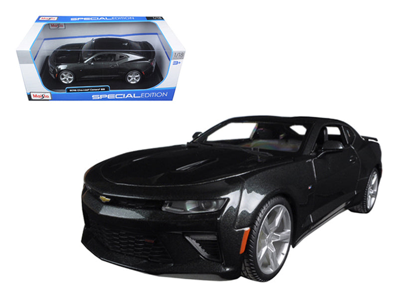 2016 Chevrolet Camaro SS Grey 1/18 Diecast Model Car by Maisto - BeTovi&co