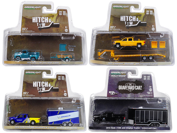 Hitch & Tow Series 13 Set of 4