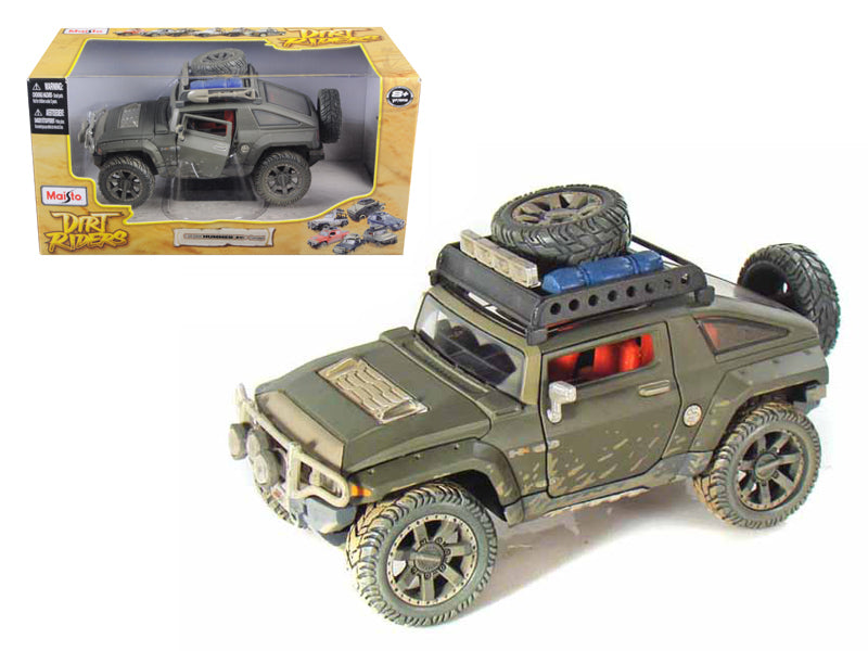 "2008 Hummer HX Concept Dirty Version \Dirt Riders"" 1/24 Diecast Model Car by Maisto"" - BeTovi&co"