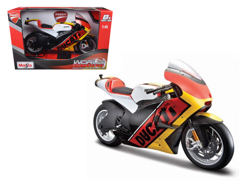 Ducati Germany Motor World Cycle Series 1/6 Motorcycle Model by Maisto - BeTovi&co