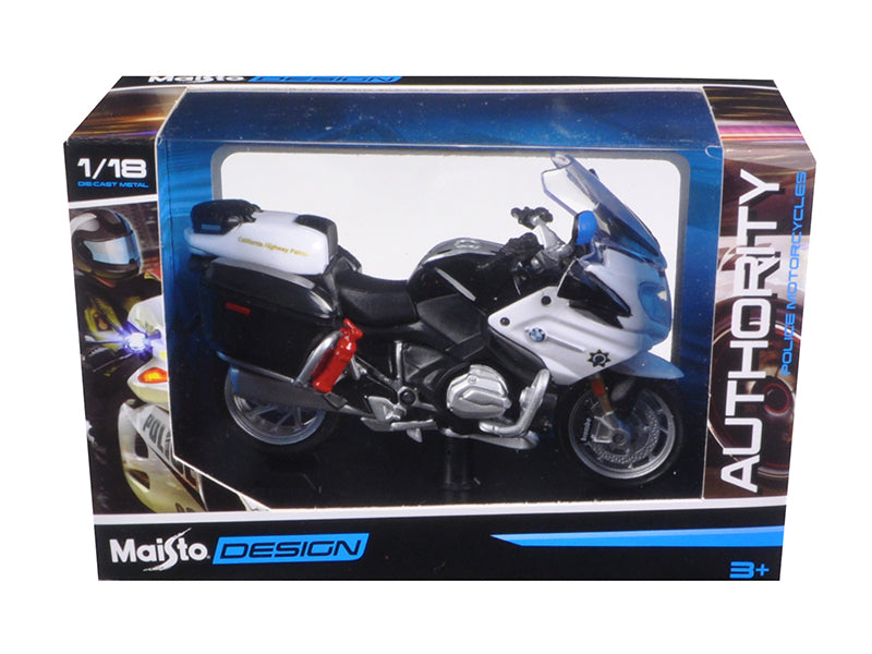 BMW R 1200 RT California Highway Patrol (CHP) Police Motorcycle Model 1/18 by Maisto - BeTovi&co