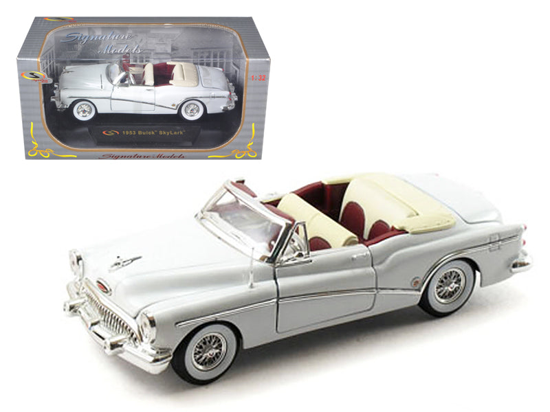 1953 Buick Skylark White 1/32 Diecast Model Car by Signature Models - BeTovi&co