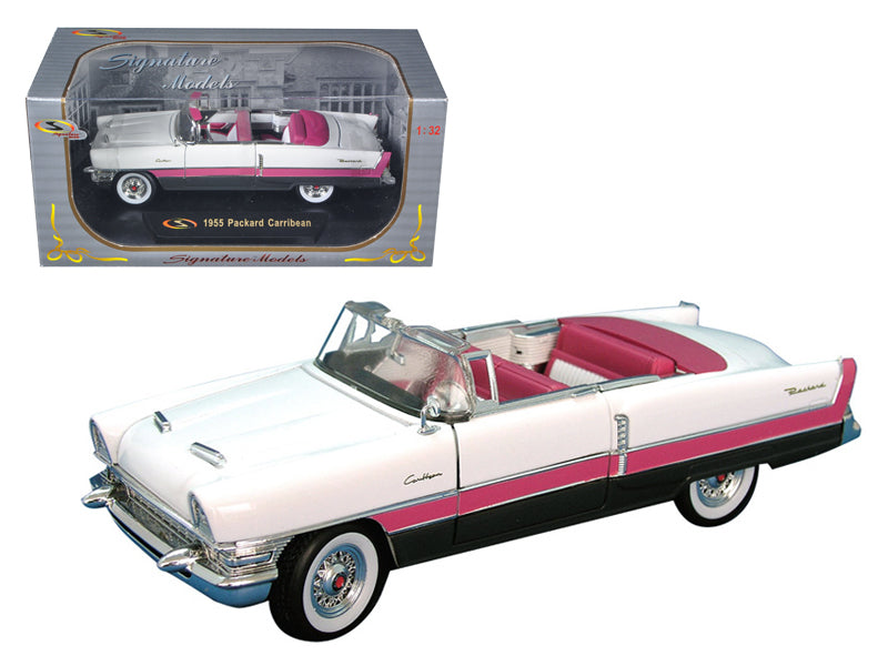 1955 Packard Caribbean Pink 1/32 Diecast Car Model by Signature Models - BeTovi&co