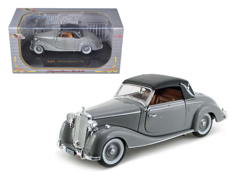 1950 Mercedes 170s Soft Top Gray 1/32 Diecast Model Car by Signature Models - BeTovi&co