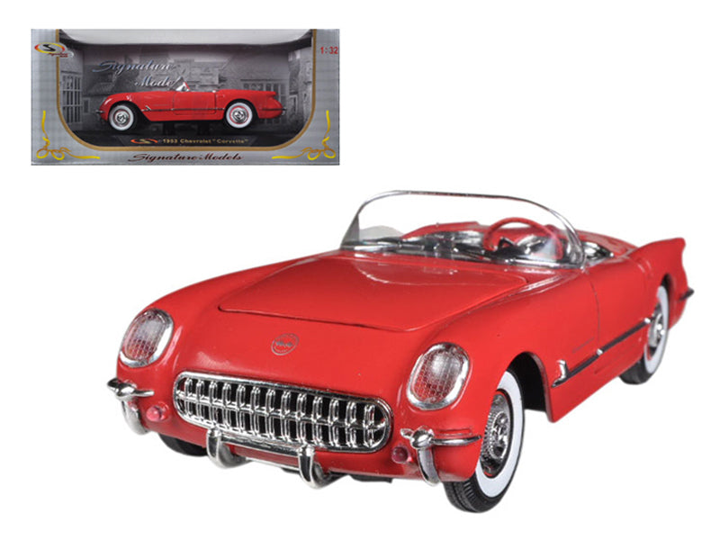 1953 Chevrolet Corvette Red 1/32 Diecast Car Model by Signature Models - BeTovi&co