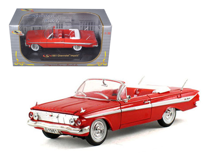 1961 Chevrolet Impala Red 1/32 Diecast Model Car by Signature Models - BeTovi&co