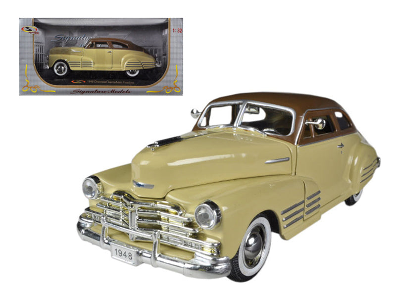 1948 Chevrolet Fleetline Aerosedan Beige 1/32 Diecast Car Model by Signature Models - BeTovi&co
