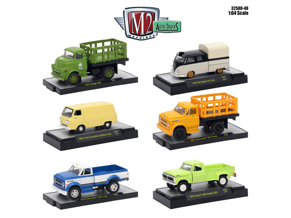 Auto Trucks 6 Piece Set Release 48