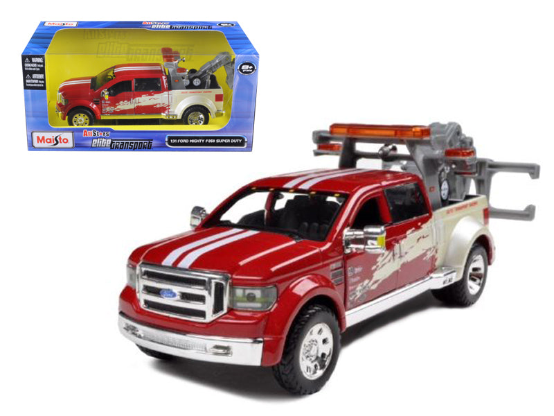 Ford Mighty F-350 Super Duty Tow Truck Red 1/31 Diecast Model by Maisto - BeTovi&co