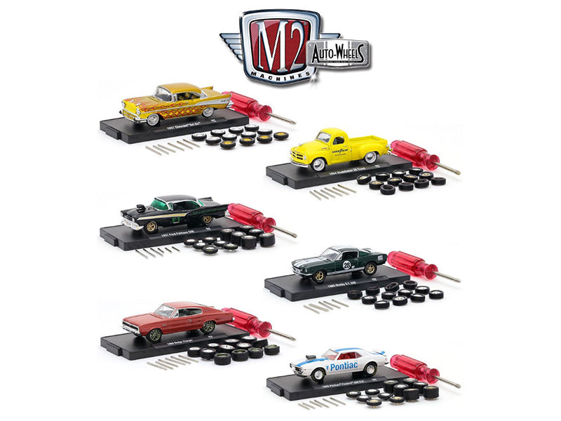 Auto Wheels 6 Cars Set Release