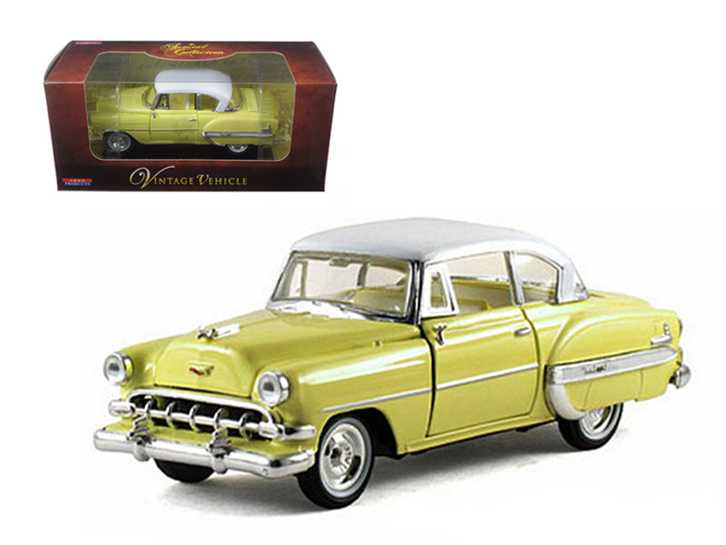 1954 Chevrolet Bel Air Yellow 1/32 Diecast Car Model by Arko Products - BeTovi&co