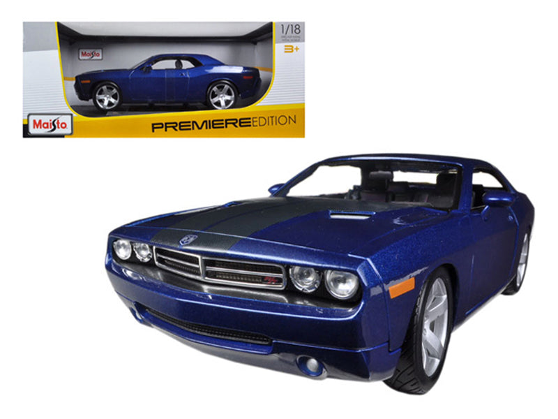 2006 Dodge Challenger Concept Blue 1/18 Diecast Model Car by Maisto - BeTovi&co