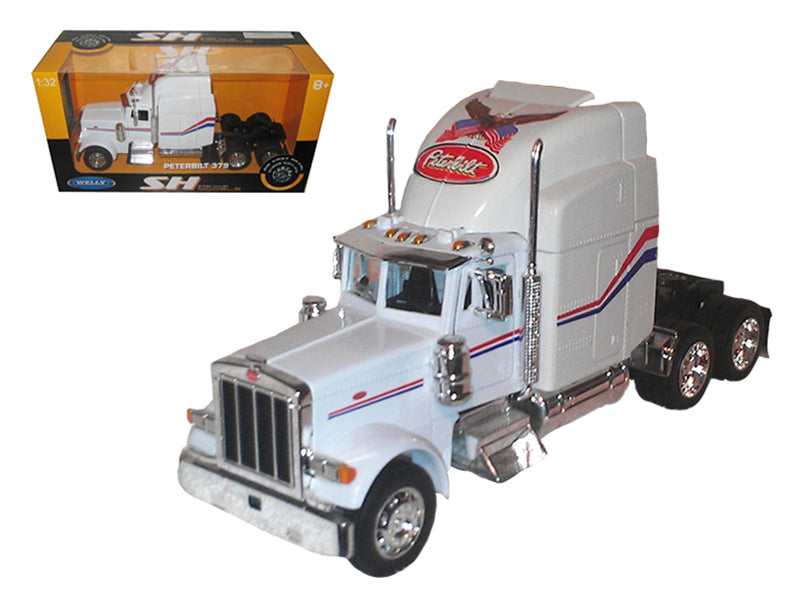 Peterbilt 379 Cab White 1/32 Diecast Model by Welly - BeTovi&co