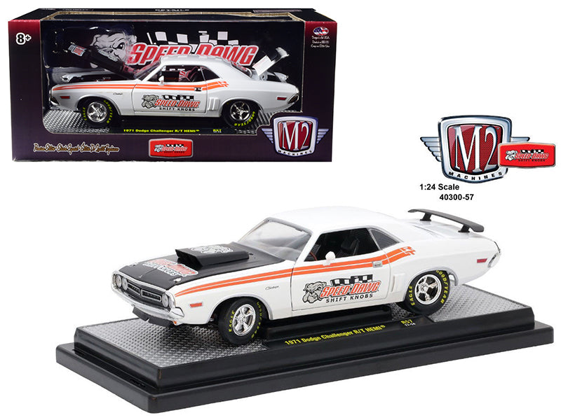 1971 Dodge Challenger R/T Hemi  Speed Dawg Shift Know 1/24 Diecast Model Car by M2 Machines - BeTovi&co
