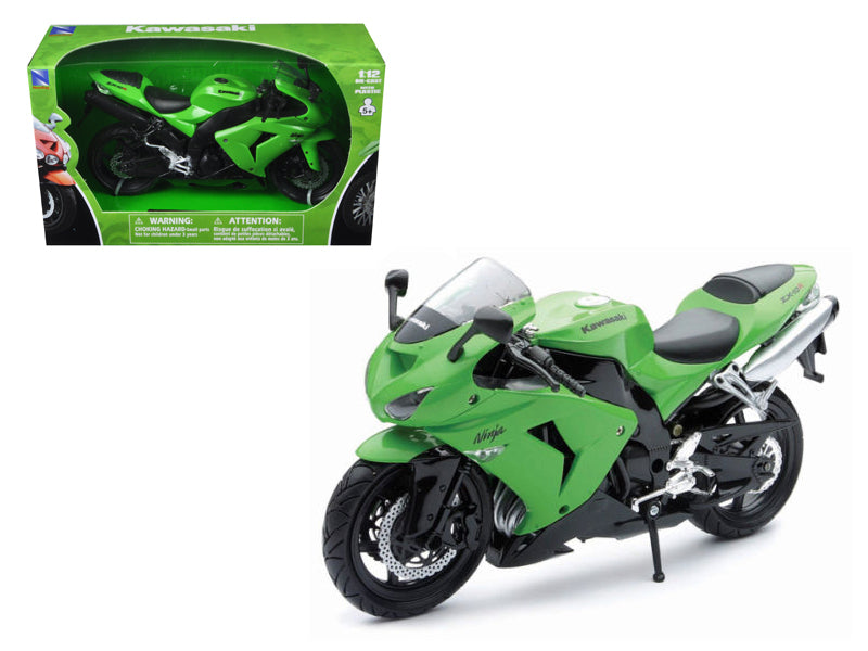 2006 Kawasaki ZX-10R Ninja Green Motorcycle 1/12 Model by New Ray - BeTovi&co