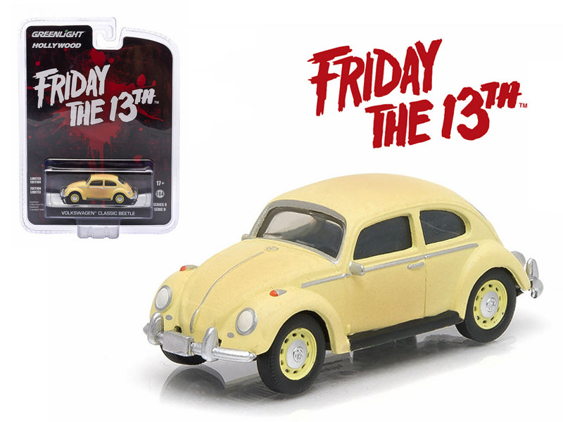 "1963 Volkswagen Beetle \Friday The 13th Part III"" (1982) Movie Hollywood Series 9 1/64 Diecast Model Car by Greenlight "" - BeTovi&co"