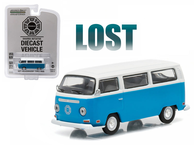 "1971 Volkswagen Type 2 Bus (T2B) \Lost"" TV Series (2004-2010) 1/64 Diecast Model by Greenlight"" - BeTovi&co"