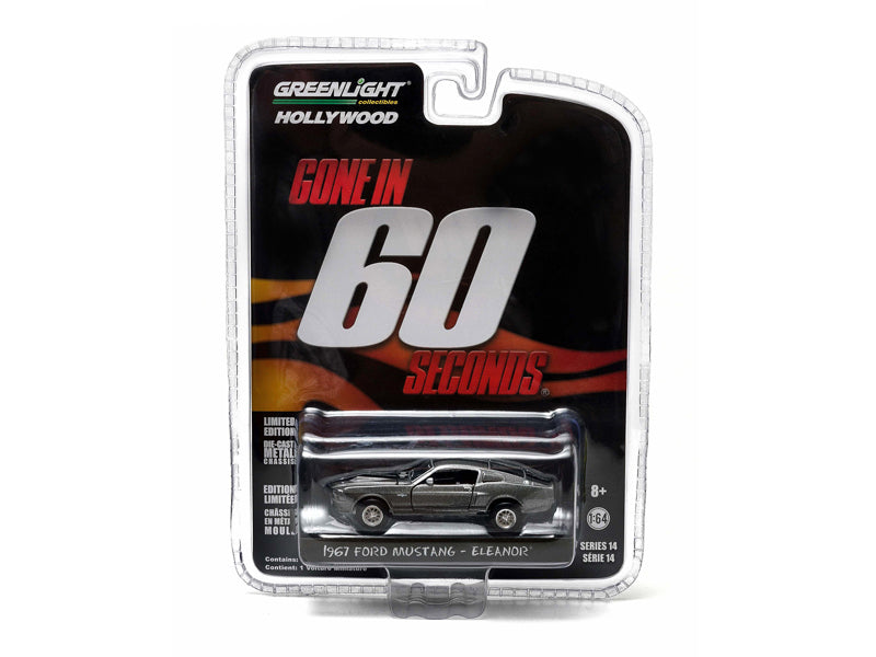 1967 Ford Mustang Custom 'Eleanor' Gone in 60 Seconds Movie (2000) 1/64 Diecast Car Model by Greenlight - BeTovi&co