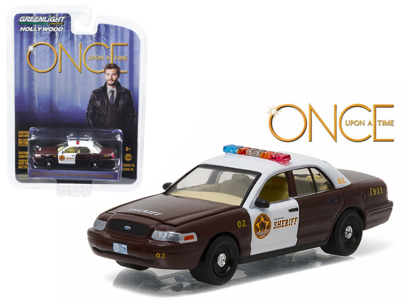 Sheriff Graham - BeTovi&cos 2005 Ford Crown Victoria Police Interceptor 'Storybrooke' Once Upon a Time (2011-Current) TV Series  1/64 Diecast Model Car  by Greenlight - BeTovi&co