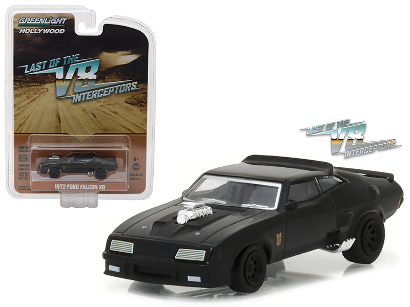 1972 Ford Falcon XB 'Last of the V8 Interceptors' Movie (1979) Hollywood Series 17 1/64 Diecast Model Car by Greenlight - BeTovi&co