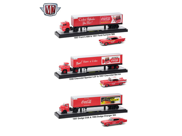 Coca-Cola Release 3, Trucks Set 1/64