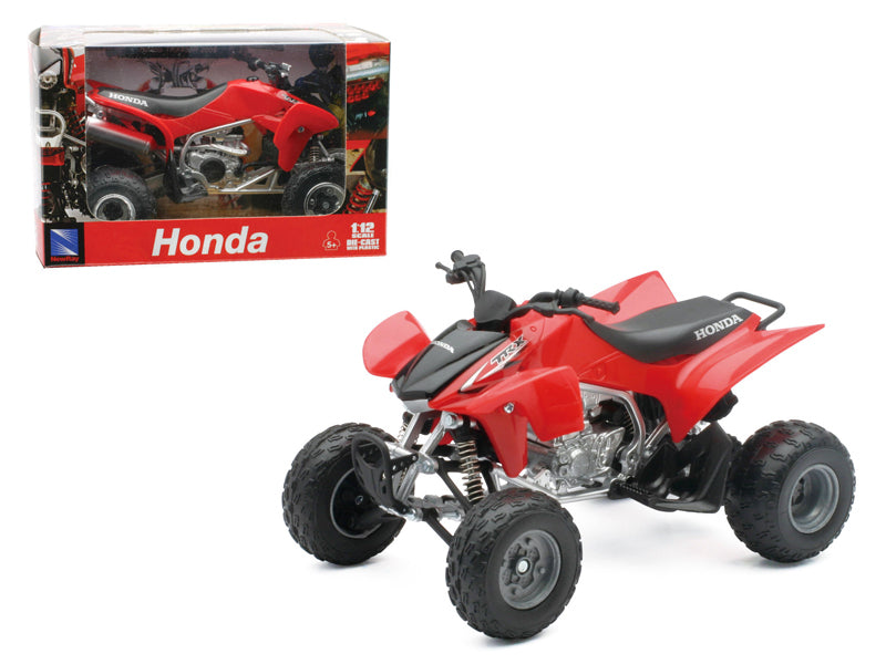 2009 Honda TRX 450R Red ATV Motorcycle 1/12 Diecast Model by New Ray - BeTovi&co
