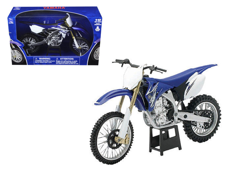 2009 Yamaha YZ450F Dirt Bike Blue Motorcycle 1/12 Model by New Ray - BeTovi&co