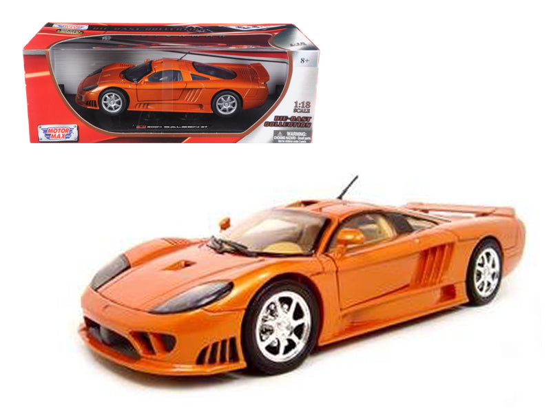 Saleen S7 Copper 1/18 Diecast Model Car by Motormax - BeTovi&co