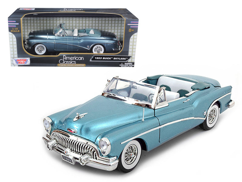 1953 Buick Skylark Blue 1/18 Diecast Model Car by Motormax - BeTovi&co