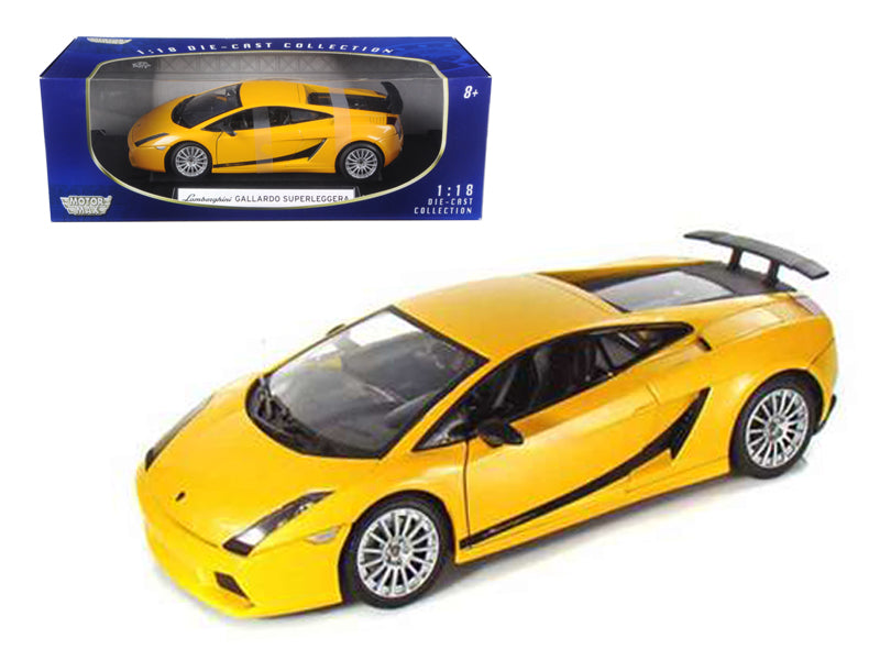 Lamborghini Gallardo Superleggera Orange 1/18 Diecast Model Car by Motormax - BeTovi&co