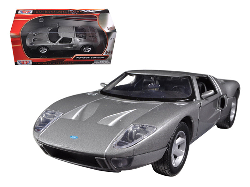 Ford GT Silver 1/24 Diecast Car Model by Motormax - BeTovi&co