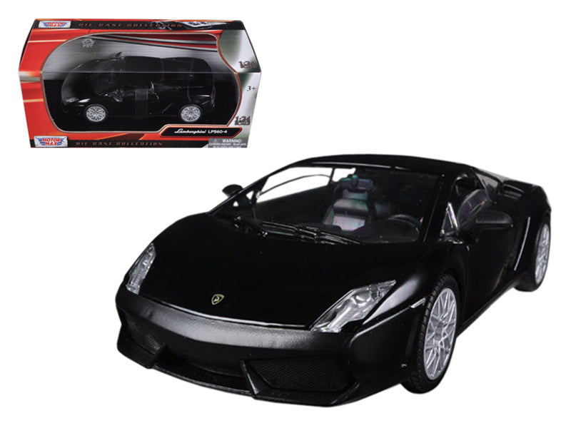 Lamborghini Gallardo LP-560-4 Matt Black 1/24 Diecast Car Model by Motormax - BeTovi&co