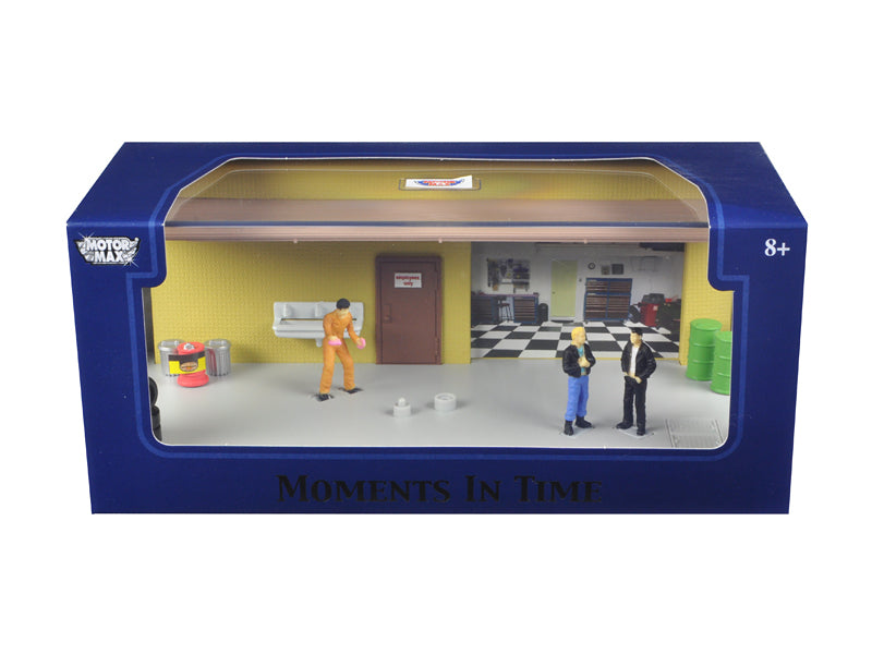 Diorama 'Garage Scene' Place Your Own Car Inside 1/43 by Motormax - BeTovi&co