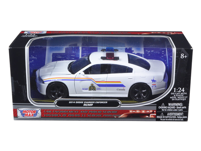 Dodge Charger Enforcer RCMP Canadian Police Car 1/24 by Motormax - BeTovi&co