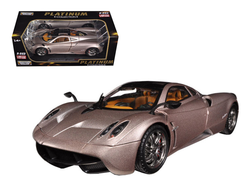 Pagani Huayra Champagne Gold Limited Edition / Platinum Collection 1/18 Diecast Model Car by Motormax - BeTovi&co