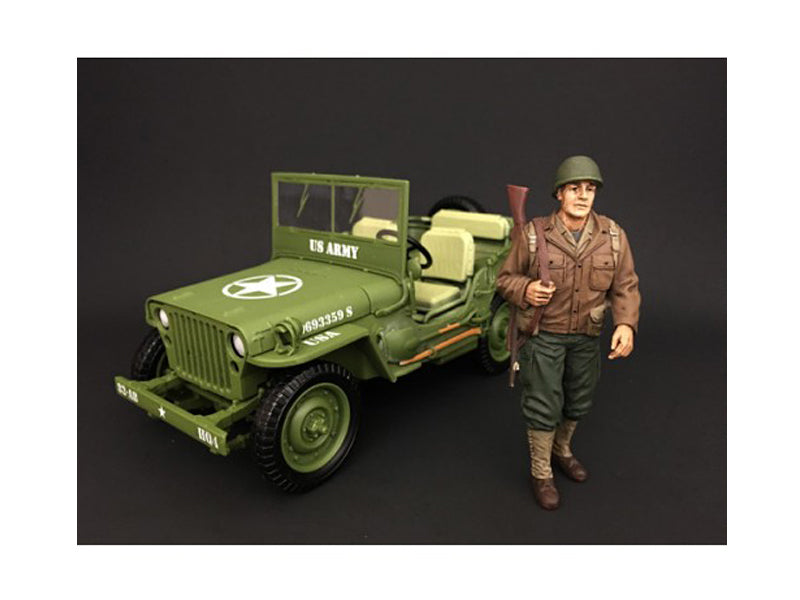 US Army WWII Figure I For 1:18 Scale Models by American Diorama - BeTovi&co