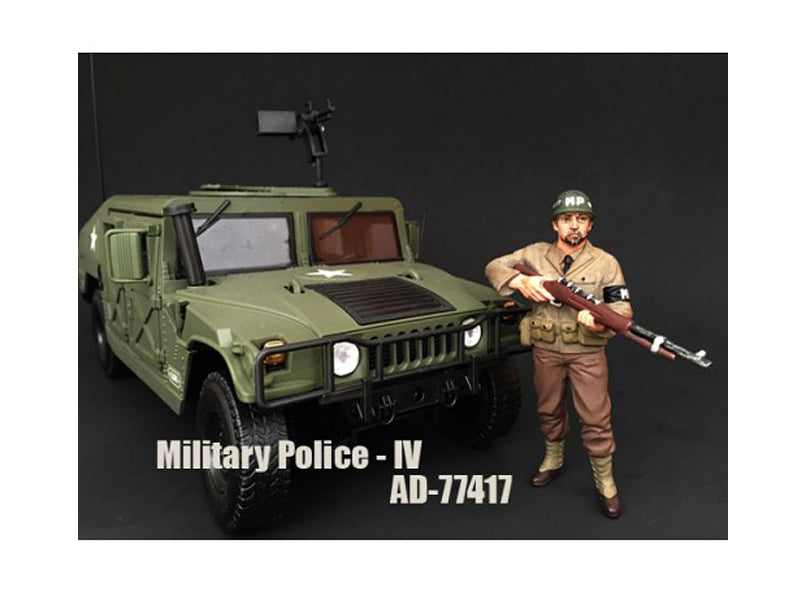 WWII Military Police Figure IV For 1:18 Scale Models by American Diorama - BeTovi&co