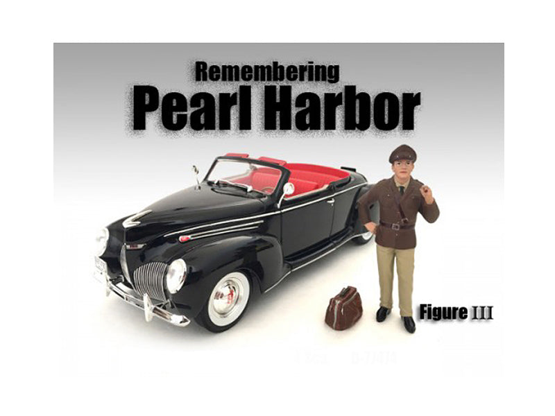 Remembering Pearl Harbor Figure III For 1:18 Scale Models by American Diorama - BeTovi&co