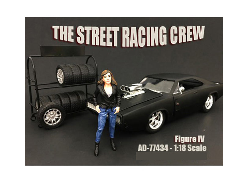 The Street Racing Crew Figure IV For 1:18 Scale Models by American Diorama - BeTovi&co