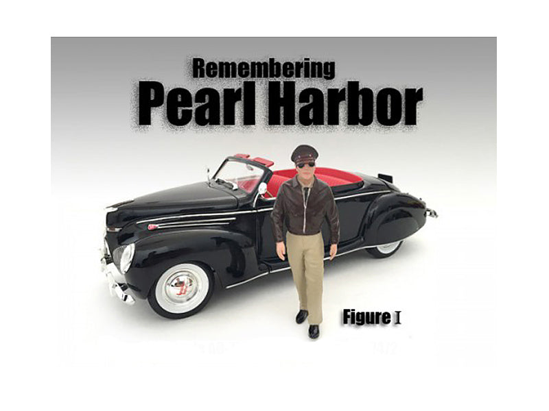 Remembering Pearl Harbor Figure I For 1:24 Scale Models by American Diorama - BeTovi&co