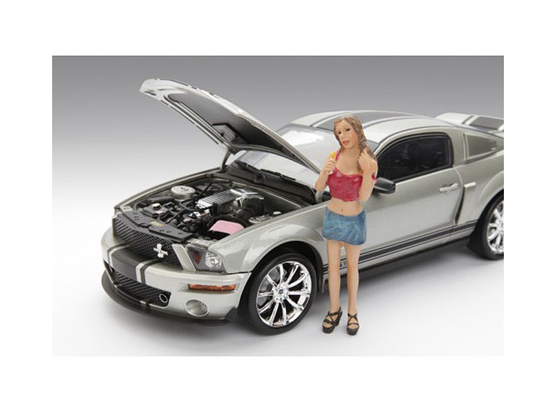 Female Monica Figure For 1:18 Diecast Model Cars by American Diorama - BeTovi&co
