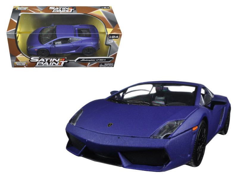 Lamborghini Gallardo LP 560-4 Matt Purple 1/24 Diecast Model Car by Motormax - BeTovi&co