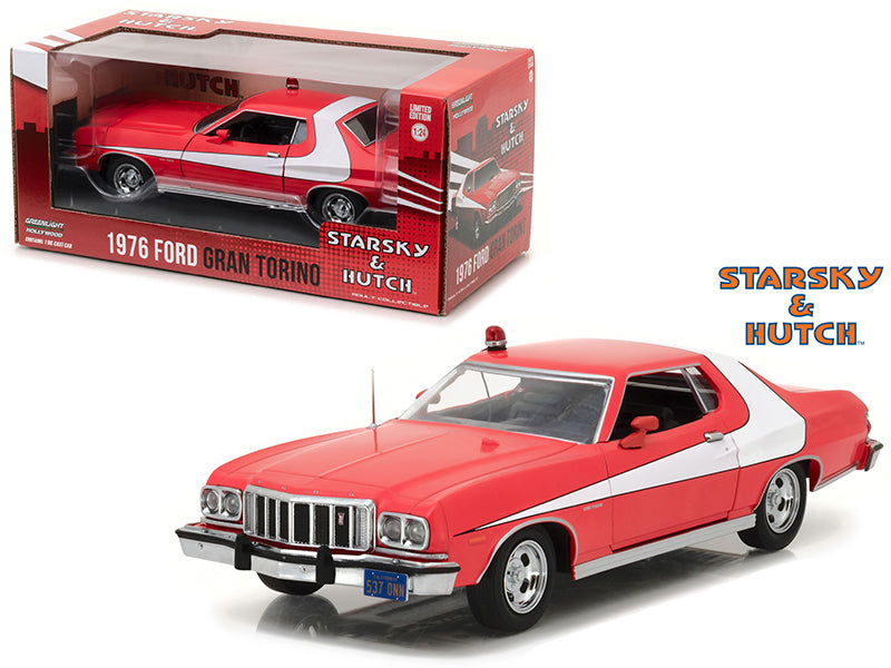 1976 Ford Gran Torino from 'Starsky and Hutch' 1975-1979 TV Series 1/24 Diecast Model Car by Greenlight - BeTovi&co