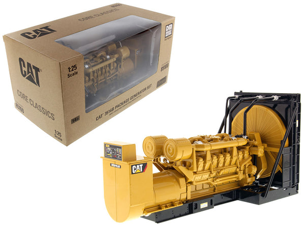 Caterpillar 3516B Engine Generator 3-Piece Set