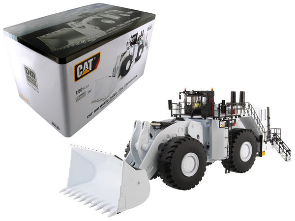 Caterpillar 994K Wheel Loader with Coal Bucket in White