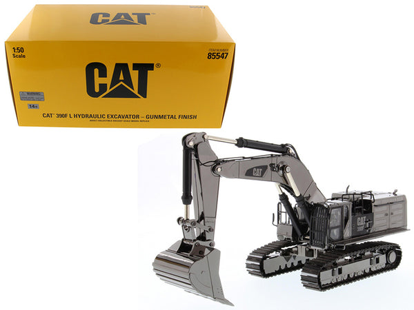 Caterpillar 390F L Hydraulic Tracked Excavator Gunmetal Commemorative Series